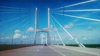 Bridge over Mississippi River