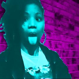 southern Black millennial neon colors